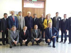 Ankara Milletvekili Nevzat Ceylan'a hayırlı olsun ziyareti