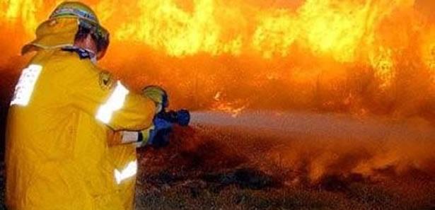 Ankara'da Fabrika Yangını!