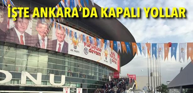 AK Parti Başkent'te Yeni Genel Başkanı'nı Seçiyor
