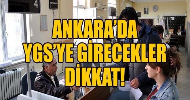 Ankara'da YGS günü nüfus müdürlükleri açık!