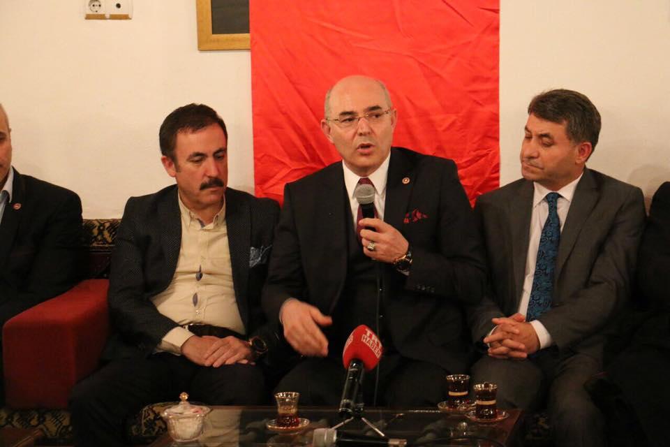 """""""BADER"""" Mevlüt KARAKAYA'yı  Hamamönünde Ağırladı"""