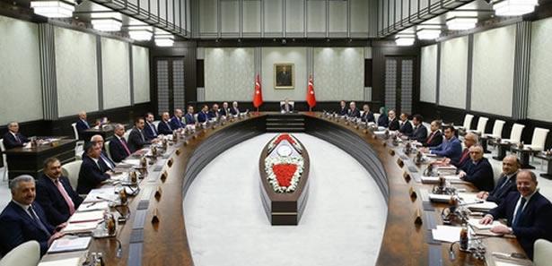 65. Hükümet'in İlk Bakanlar Kurulu Beştepe'de Toplandı
