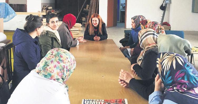 Nallıhan ve Çamlıdere'ye Kadın Danışma Birimi