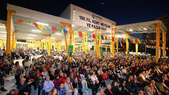 100. Yıl Pazaryeri açıldı