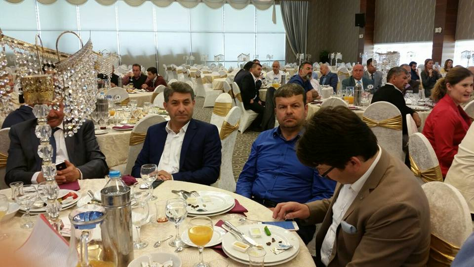 Ankaralı STK'larla bir araya geldi