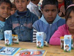 Şereflikoçhisar'da Çadır Kent Okulu Eğitime Başladı.
