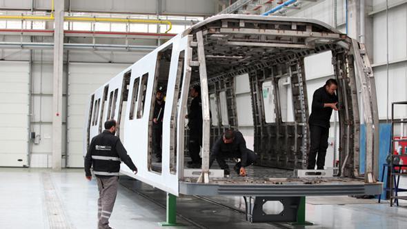 Ankara Metrosu için üretim yeniden başladı