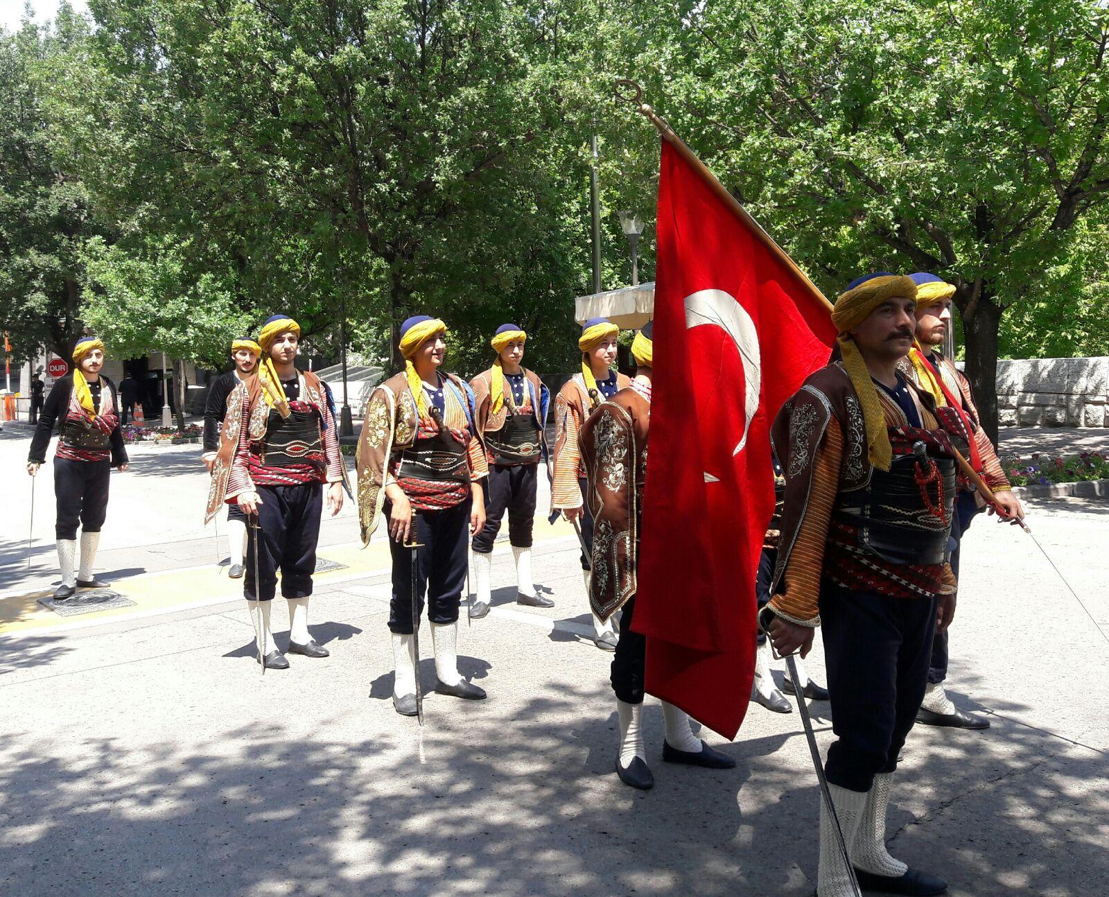 Ankara Seymenleri Gazi Meclis'de ağırlandı