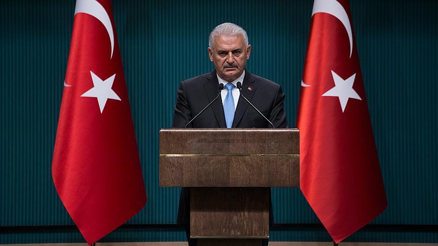 Başbakan Yıldırım kabinede yapılan değişikliği açıkladı