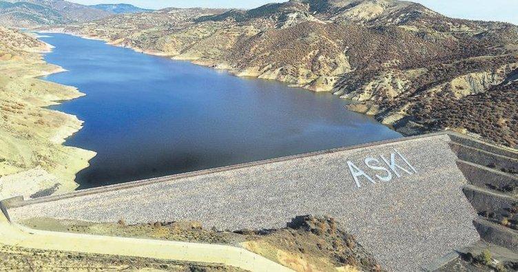 Başkentte barajların yüzde 30'u dolu