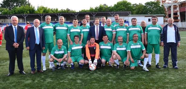 Ahilik Futbol Turnuvası Dostluk Havasında Geçti