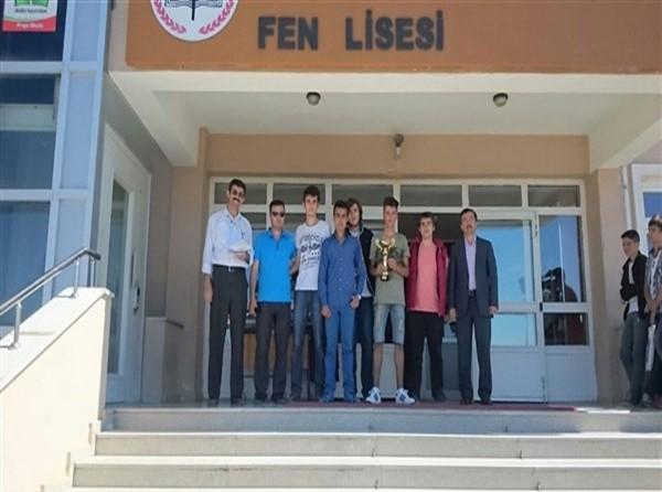 Çubuklu Genç Mucitler Türkiye Birincisi Oldu