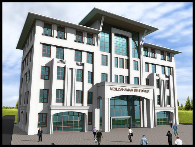 Kızılcahamam'a yeni hizmet binası