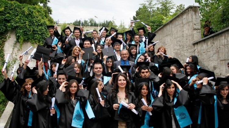 Beypazarı Meslek Yüksekokulu'na mezuniyet töreni