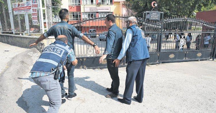 Riskli okullara polis markajı