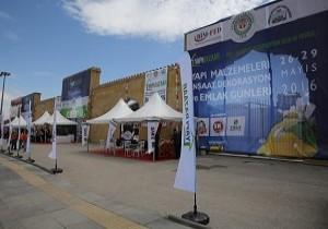 Etimesgut'ta Yapı Malzemeleri Fuarı açıldı!