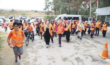 Gölbaşı'nda 'Sağlıklı bir yürüyüş' etkinliği