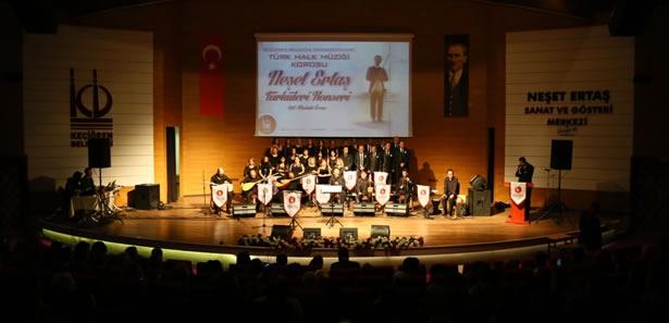 Neşet Ertaş Türkülerle Keçiören'de Anıldı
