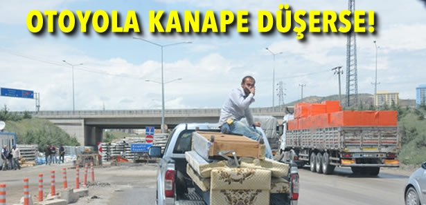 Ankara - Kırıkkale Karayolu'nda İlginç Olay
