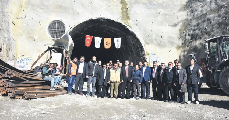 Ankara'nın en uzun tünelinde ışık göründü