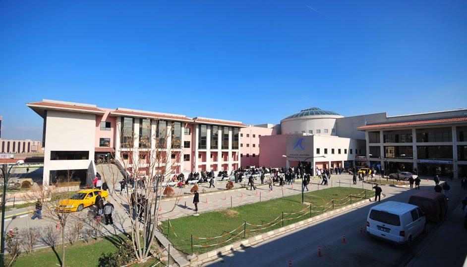 Ankara Eğitim ve Araştırma Hastanesinde yangın!