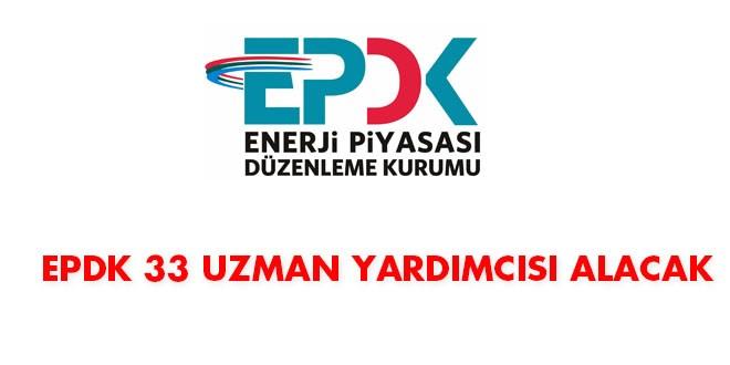 EPDK 33 uzman yardımcısı alacak