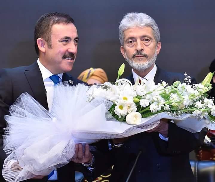 """""""BADER"""" ve """"AHİD"""" den Başkan TUNA'ya Ziyaret"""