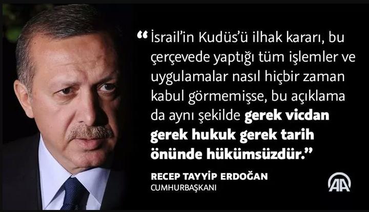 Erdoğan'dan yoğun 'Kudüs' diplomasisi