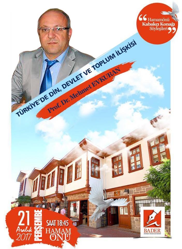 Prof. Dr. Mehmet EVKURAN BADER'de