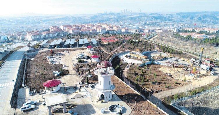 Gölbaşı'nın yeni gözdesi: Şehir Parkı