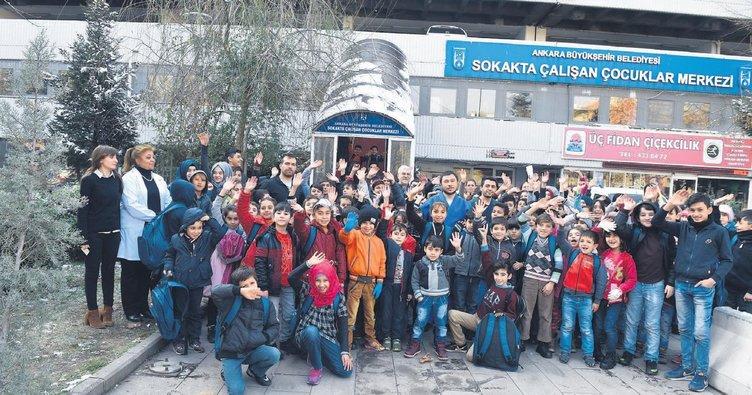 Sokaktaki çocuklar Büyükşehir'e emanet