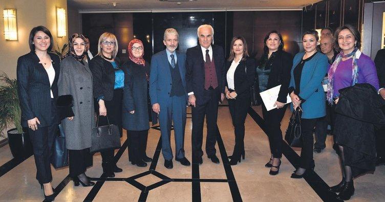 Dernek başkanları Tuna'yı ziyaret etti