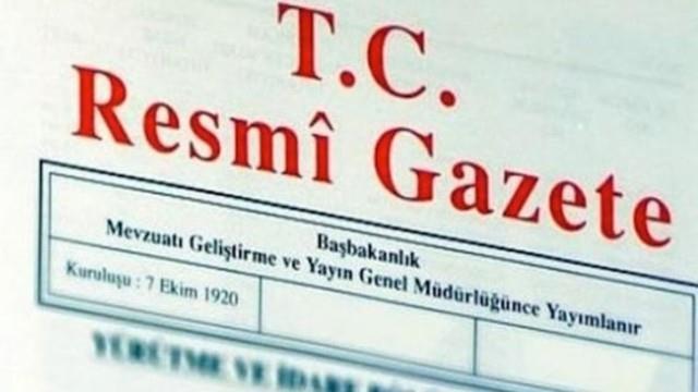 Bakanlıklardaki atama kararları Resmi Gazete'de yayımlandı