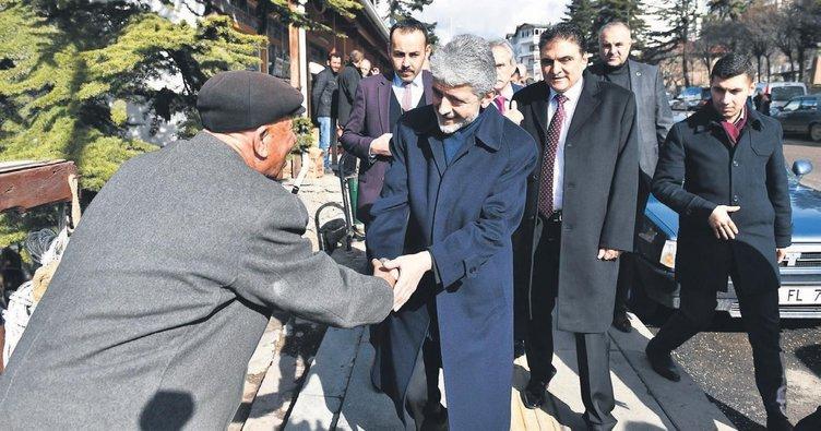 Başkan Tuna'dan Çamlıdere'ye ziyaret