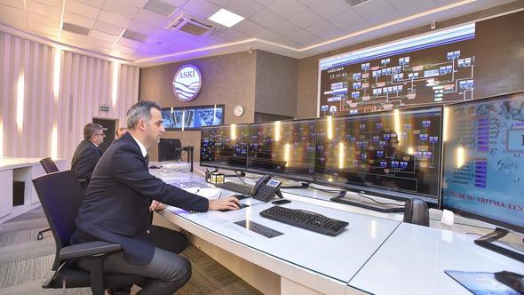 ASKİ'den akıllı yönetim sistemi