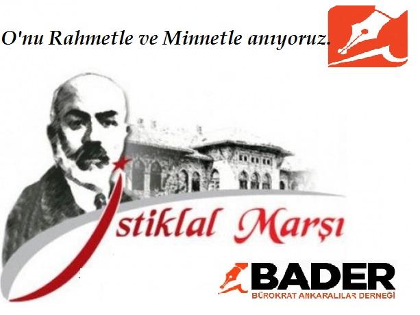 12 Mart 1921 O'nu Rahmetle Anıyoruz