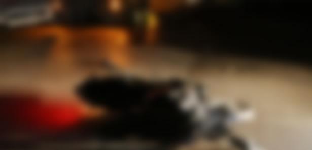 Ankara'da Motosiklet Kazası! Takla Atınca...