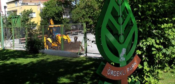 Çankaya'da Ördekli Park Yenileniyor