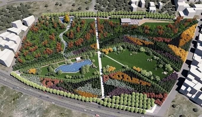 Ankara'ya Millet Bahçesi