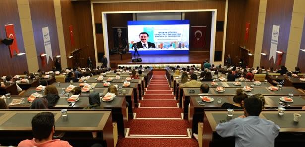 Melih Gökçek Ankara'da Yapılacak Projeleri Anlattı