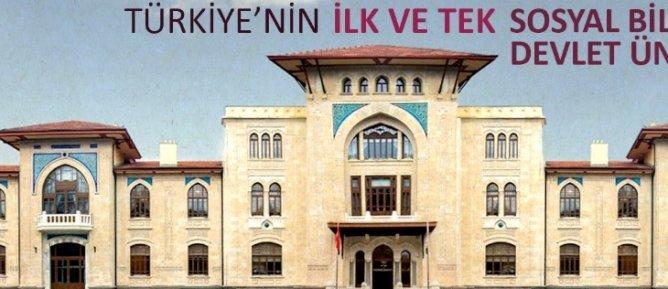 Hacı Bayram Veli Hazretlerinin Manevi Gölgesinde Bir Sosyal Bilimler Üniversitesi