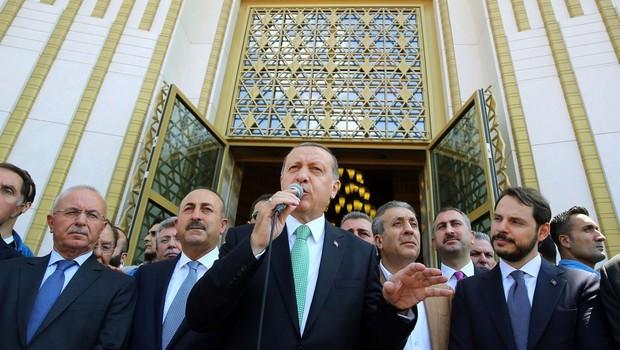Cumhurbaşkanı, Yıldırım Beyazıt Üniversitesi Esenboğa Külliyesi'ni açtı