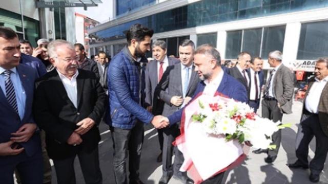 KAHRAMANKAZAN'A ZİYARETLER DEVAM EDİYOR