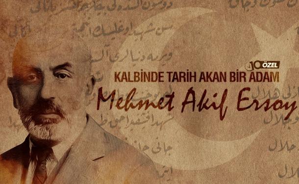 Mehmet Akif İstiklâl Marşı'nı yazdığı Taceddin Dergâhı'nda anılıyor...