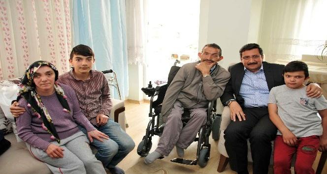 Keçiören TOGEM'den ailelere yardım ziyareti